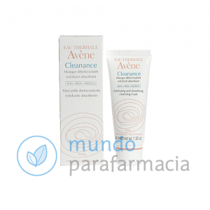 Avene Cleanance mascarilla exfoliante 40 ml-0