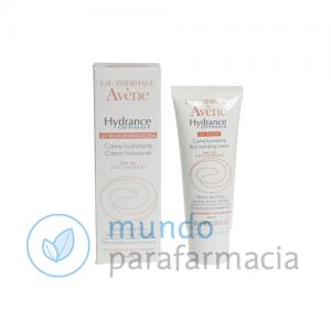 Avene Hydrance enriquecida UV SFP 20 (40ml) + leche desmaquillante regalo-0