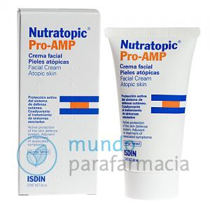 Nutratopic crema facial Pro-Amp piel atópica 50 ml-0