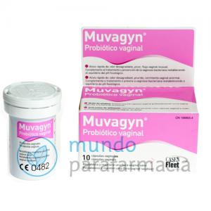 Muvagyn probiotico vaginal 10 capsulas vaginales-0