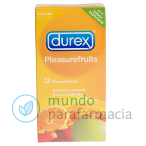 DUREX PLEASUREFRUITS PRESERVATIVOS 12 U-0