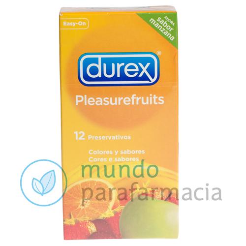 DUREX PLEASUREFRUITS PRESERVATIVOS 12 U-0
