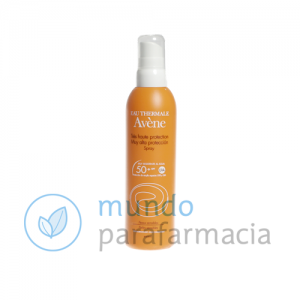 SPF 50+ Avene solar spray (200ml)-0