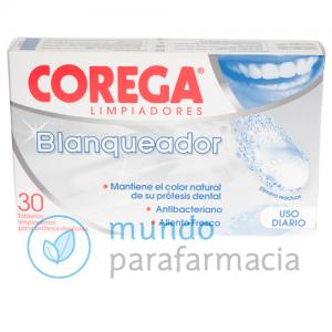 COREGA BLANQUEADOR LIMPIEZA PROTESIS DENTAL 30 TAB-0