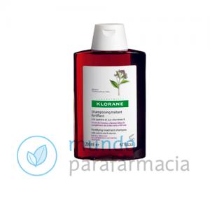 Klorane champú a la quinina complejo VIT B 400 ml - Anticaida-0