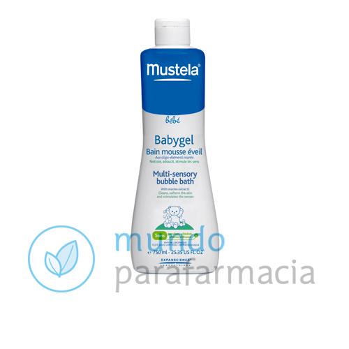 Mustela Babygel (750ml), gel de baño para bebés y niños de piel sensible.-0