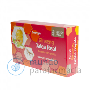 JALEA REAL FRESCA + GINSENG DYNERGIE ARKOREAL 15 ML 20 AMP-0