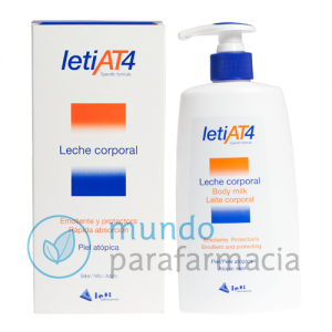 Leti at-4 leche corporal 250 ml - piel sensible y atópica-0