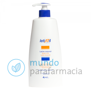 Leti at-4 leche corporal 500 ml - piel sensible y atópica-0