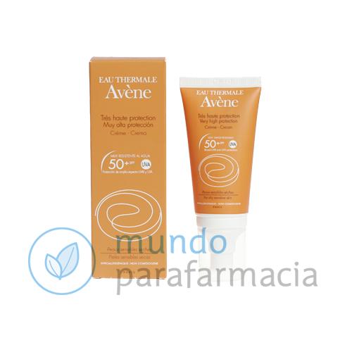 Avene Crema protectora solar factor 50+ fotoprotector envase 50 ml -0