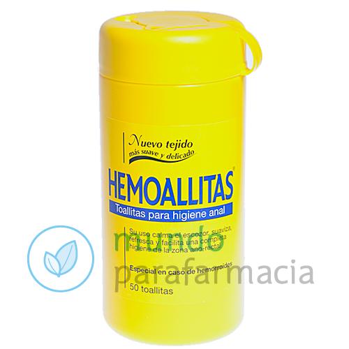 HEMOALLITAS HIGIENE ANAL 50 TOALLITAS-0