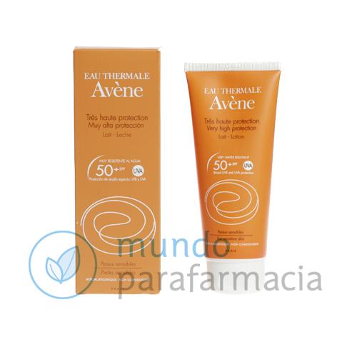 SPF 50+ Avene solar leche (100ml)-0
