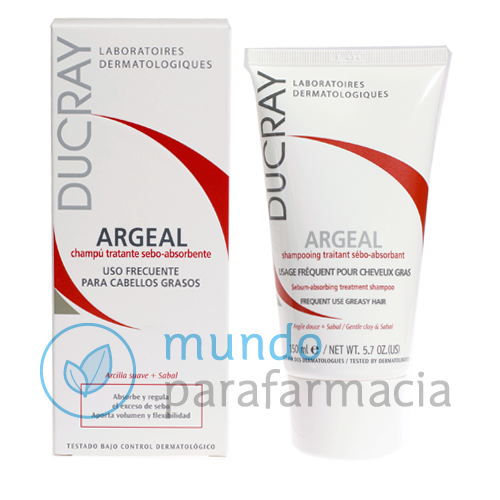 DUCRAY ARGEAL CHAMPU 150 ML-0