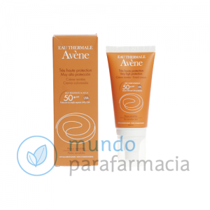 SPF 50+ Avene solar crema color facial 50 ml-0