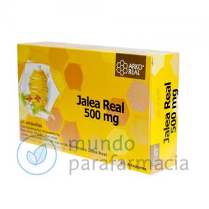 JALEA REAL FRESCA 500 ARKOREAL AMPOLLAS 50O MG 20 AMP-0