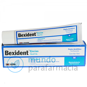 BEXIDENT ENCIAS PASTA DENTAL TRICLOSAN 75 ML-0