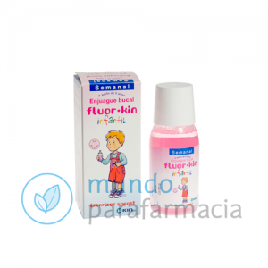 FLUOR KIN ANTICARIES COLUTORIO SEMANAL 0,2 100 ML-0