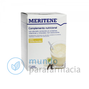 Complemento de vitaminas MERITENE 30 gramos Sabor vainilla-0