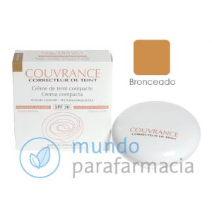 Avene Couvrance crema compacta bronceado (9,5gr)