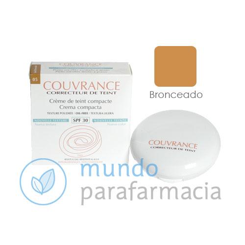 Avene Couvrance crema compacta oil free bronceado (9,5gr)