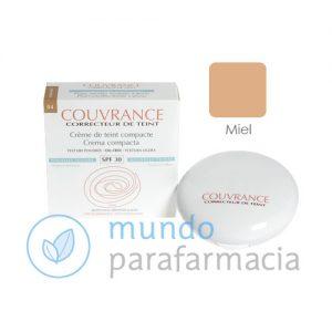 Avene Couvrance crema compacta oil free miel (9,5gr)