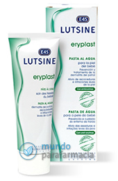E45 Lutsine eryplast pasta al agua 75 gr para irritaciones en la piel del bebé-0