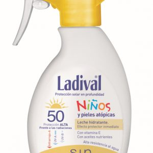 Ladival niños fotoprotector FPS 50+ Spray (200ml)+ Aftersun regalo-0