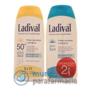 Ladival niños fotoprotector FPS 50+ Leche (200ml)+ Aftersun regalo-0