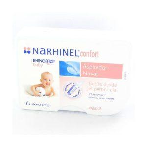 NARHINEL CONFORT ASPIRADOR NASAL 1 U +2 RECAMBIOS-0