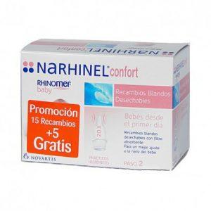 NARHINEL CONFORT 15 RECAMBIOS + 5 gratis-0