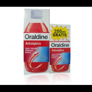 ORALDINE ANTISEPTICO 400 ML+ 200ml gratis-0