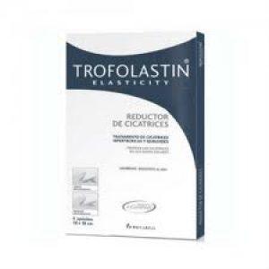 TROFOLASTIN REDUCTOR DE CICATRICES E CARRERAS 5 X 7,5 CM 5 U-0