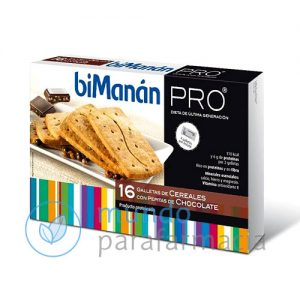 Bimanan pro 16 galletas de cereales con pepitas de chocolate-0