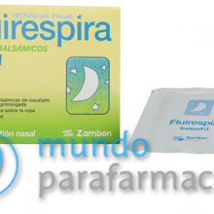 FLUIRESPIRA PARCHES BALSAMICOS 2X1-0