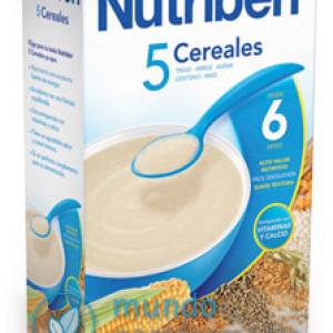 Nutriben 5 cereales 600 gr-0