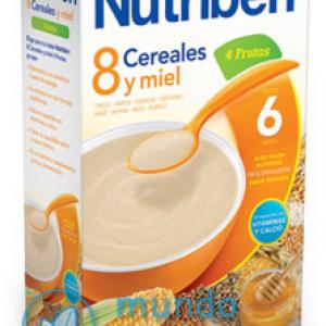 NUTRIBEN 8 CEREALES Y MIEL 4 FRUTAS 600 G -0