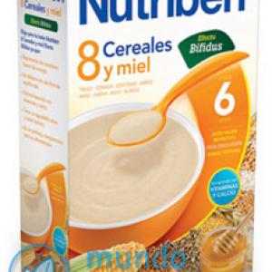 NUTRIBEN 8 CEREALES Y MIEL EFECTO BIFIDUS 600 G -0