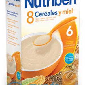 NUTRIBEN 8 CEREALES Y MIEL 600 G -0