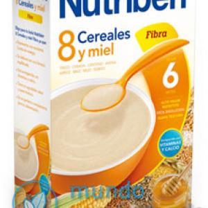 NUTRIBEN 8 CEREALES Y MIEL FIBRA 600 G -0