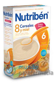 NUTRIBEN 8 CEREALES Y MIEL FRUTOS SECOS 600 G -0