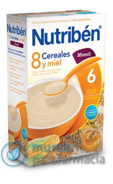 Nutriben papilla 8 cereales y miel muesli (600gr)-0