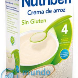 Nutriben Crema de Arroz para bebés con diarrea 300 G -0