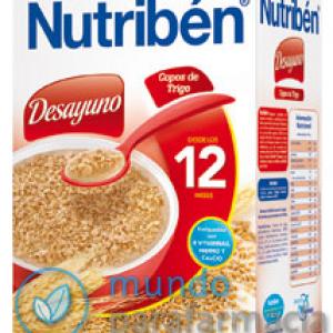 NUTRIBEN DESAYUNO COPOS DE TRIGO 750 G -0