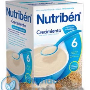 Papilla NUTRIBEN CRECIMIENTO para bebés 600 gramos-0