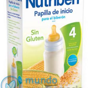 NUTRIBEN INICIO BIBERON PAPILLA SIN GLUTEN 600 G -0