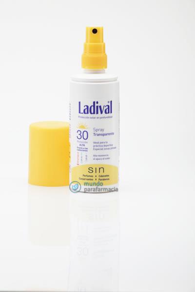 Ladival fotoprotector spray transparente fps 30-0