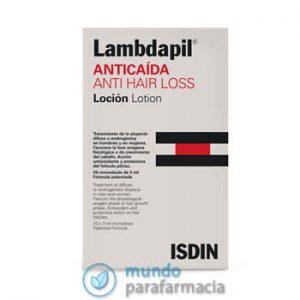 Lambdapil Anticaída del pelo 20 ampollas + champú anticaida 100ml-0