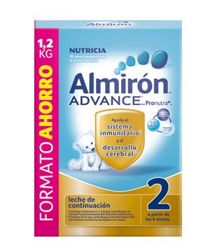 Almiron Advance 2 leche de continuación 1200gr-0