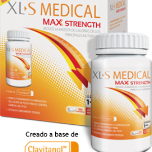 XLS medical Max Strength 120comprimidos-0